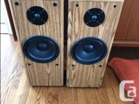 Speakers do not have a brand on them. They are solid