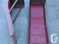 PAIR OF STEEL CAR RAMPS. In very good condition. Its a