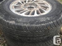 Pair of 2 tires Evertrek general 215/70R15 98T on 5
