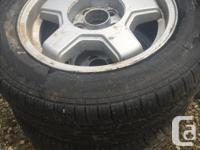 pair of 2 tires Federal super steel G57/Cooper cobra