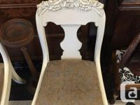Lovely pair of refinished Victorian Occassional chairs