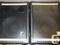 Pair Of Yorkville YS-110 80 Watt Passive PA Speakers., used for sale  British Columbia