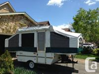 Tent camper in mint condition, sleeps 6   Comes with: