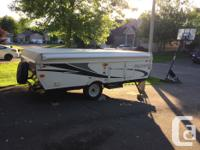 2013 Palomino tent trailer. In excellent condition.