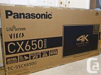 "Flawless Panasonic 55"" LED Smart TV $575. * 4K Ultra"