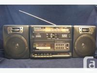 Vintage Panasonic RX-CS710 Multi Band Cassette Radio