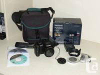 Panasonic Lumix DMC-FZ150 with box and all items that