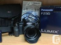 I bought this excellent Panasonic Lumix DMC-FZ50 camera