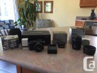 I'm selling my ultralight micro 4/3 travel kit.