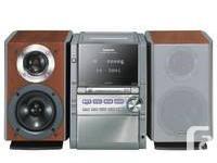 Panasonic SA-PM28 - BI-AMP stereo with 5 CD tape,