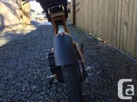 Pantera foldable e-bike for sale- 1500W, 48V, front