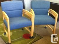 These are Solid Maple Paoli workplace chairs. We are