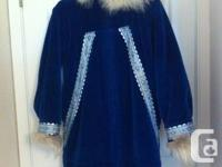 Lovely size 6-8 Eskimo parka made by Laura Wright in