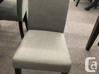 Stylish parsons dining chairs available in choice of for sale  British Columbia