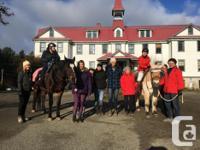 Cowichan Therapeutic Riding Association is seeking a