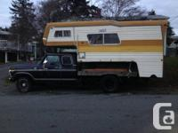Selling or parting out my 1977 ford f250 camper