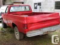 Make Chevrolet Model Silverado Year 1986 Colour RED