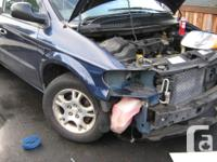 Parting out 2003 Grand Caravan . Parts Fit Years From
