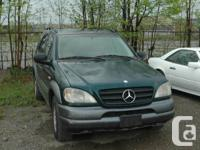 GOOD USED PARTS ONLY...!!! ML320 ML430 ML500 1998-2005