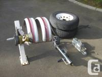I have some great parts for your project boat trailer.