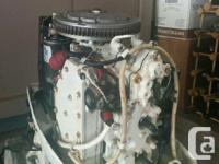 1982 70hp Johnson Parts Motor Very clean Motor