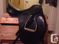 Passier Hannover dressage saddle 17'5 seat. Medium