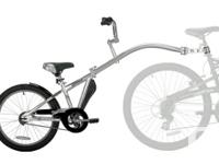 The Co-Pilot transforms your bike into a child-friendly
