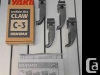 For sale: Brand brand-new Yakima Lowrider Max Towers w/