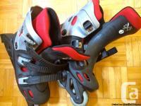1 paires de patins a live roulette (Roller cutter).