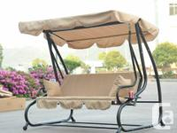 I can deliver or meet up Patio Swing Chair 3 Seater