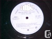 THIS VINYL RECORD, ARE YOU READY FOR LOVE IS BY PATSY