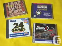 Excellent Classic Gamings for the COMPUTER. Done in
