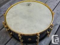Restricted edition Pearl 50th anniversary snare drum