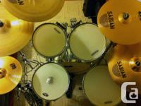Selling my drum kit as I am no longer able to play it.