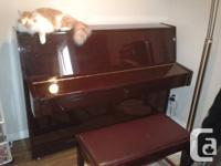I am getting rid of my Pearl River Piano, it's approx