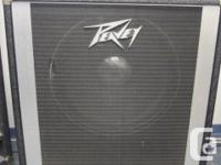 "This is an awesome Peavey single 15"" speaker cab made"