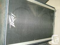 Peavey 2x15 bass cab. I used this with my hartke700
