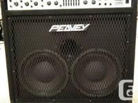 Have a mint condition Peavey Combo 210 tx bass amp 300