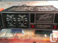Peavey CS 400 Stereo Amp    View this weekend 9:00 -
