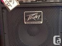 Peavey Max 158 Bass amp  View this weekend 9:00 - 4:30