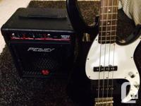 White as well as black Peavey Turning point 3 Bass