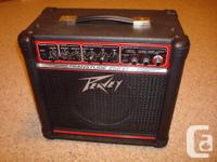Available is a used, however like brand-new Peavey
