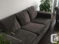 Selling a perfect condition Pebbled Grey Sofa PAIANO