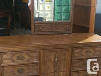 All drawers work good, good condition. Basset