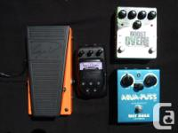 PEDALS: Ibanez Super Chorus - $30 - SOLD! Guyatone for sale  British Columbia