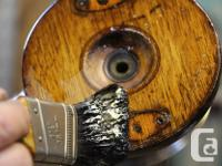 If your PEETZ classic wood reels are showing signs of