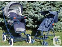 Peg Perego Classic Stroller - Smooth riding with