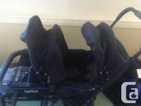 Peg perego double stroller Excellent condition (back