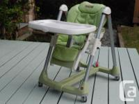 Peg Perego Pappa Prima High Chair. Best-in-class