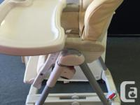 Beautiful Peg Perego Prima Pappa Paloma Highchair, in
